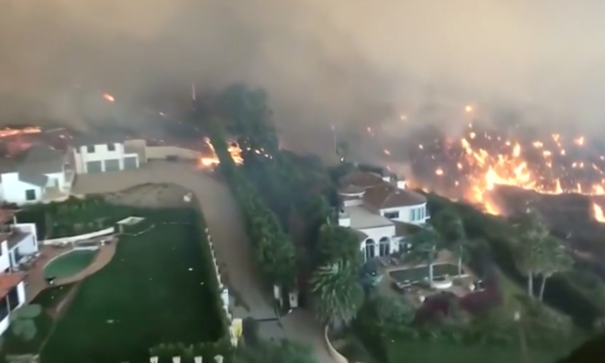 Derzeit viele Brände in Kalifornien, bald wieder El Niño