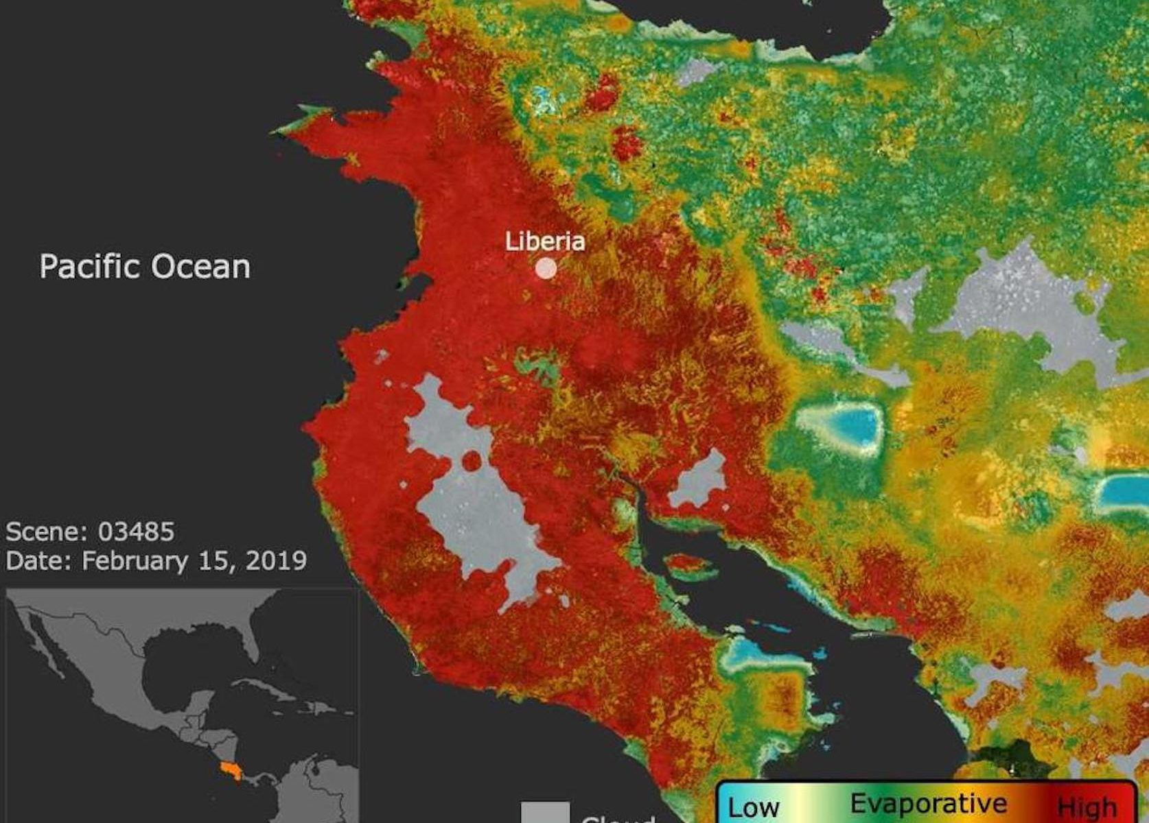 Veränderung des Klimas in Costa Rica