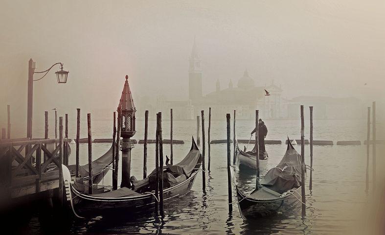 Gebäuteltes Venedig